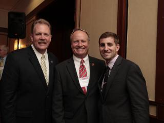 OH State Rep. John Rogers and his son with Congressman Dave Joyce (R-OH)