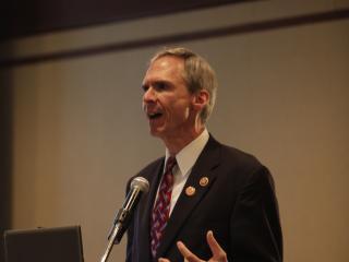 Congressman Dan Lipinski (D-IL) welcomes BOA delegates to nations's capitol