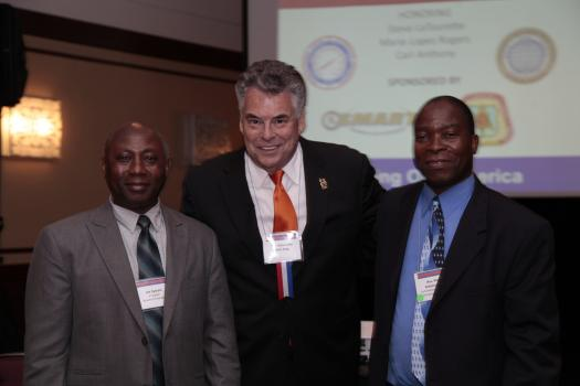 Rep. Peter King (R-NY) and BOA leaders