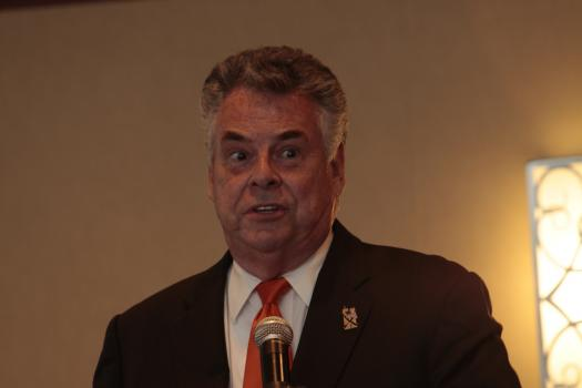 Congressman Pete King (R-NY) welcomes BOA delegates to nations's capitol