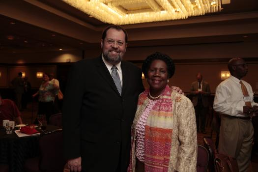 Congressman Steve LaTourette and Congresswoman Sheila Jackson Lee (D-TX)
