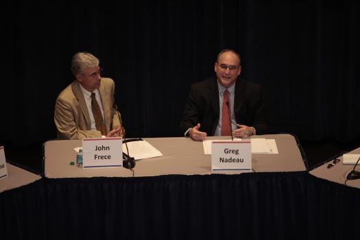 John Frece, EPA Office of Sustainable Communitiesand Greg Nadeau, Federal Highway Administration